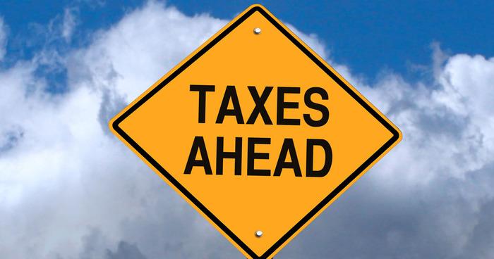 Taxes Ahead