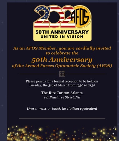 AFOS 50th Reception