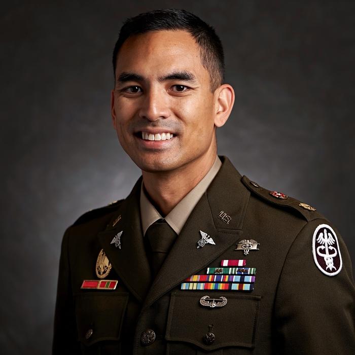 Chris Alferez, OD, FAAO (Army)