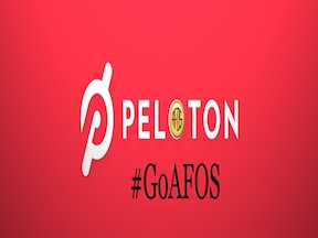 Working out with Peloton